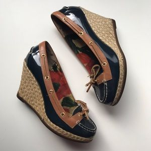 Milly for Sperry Espadrilles Wedges